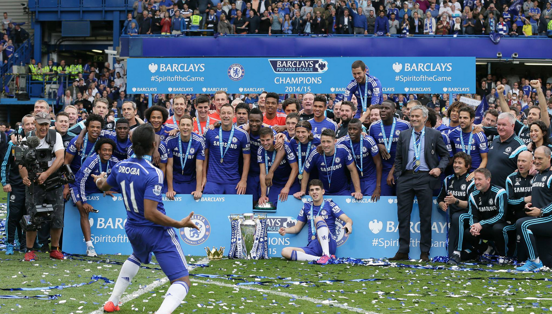 Chelsea Title Celebrations 2014/15