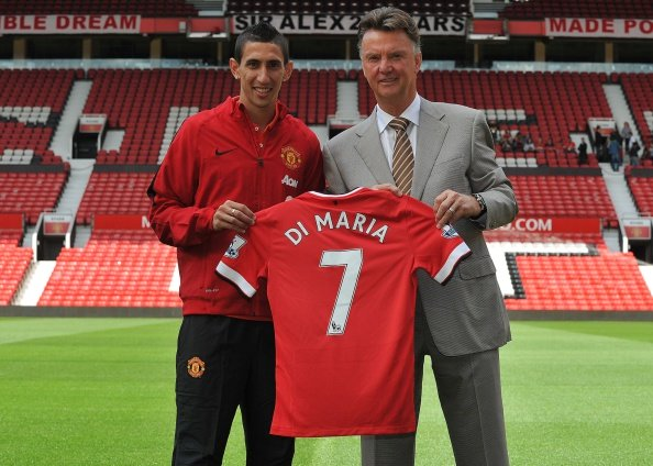 Angel Di Maria (left)