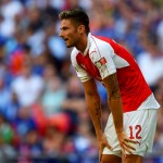 Arsenal will bank a lot on striker Olivier Giroud to score more goals
