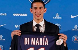 Di Maria's arrival could well see the departure of Lavezzi