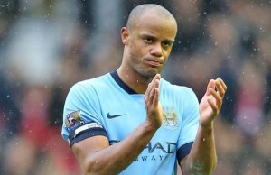 Man City's Vincent Kompany had a great game against West Brom