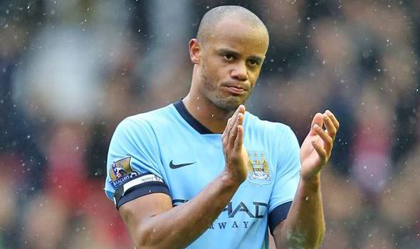 Former Manchester City captain Vincent Kompany, who departed the club after the end of last season.