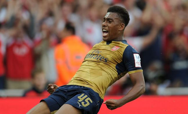 Alex Iwobi, Arsenal