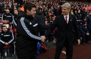 arsenal spurs north london derby wenger poch