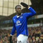 Romelu Lukaku of Everton