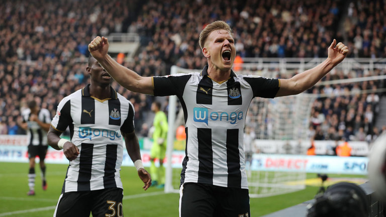Matt Ritchie of Newcastle United
