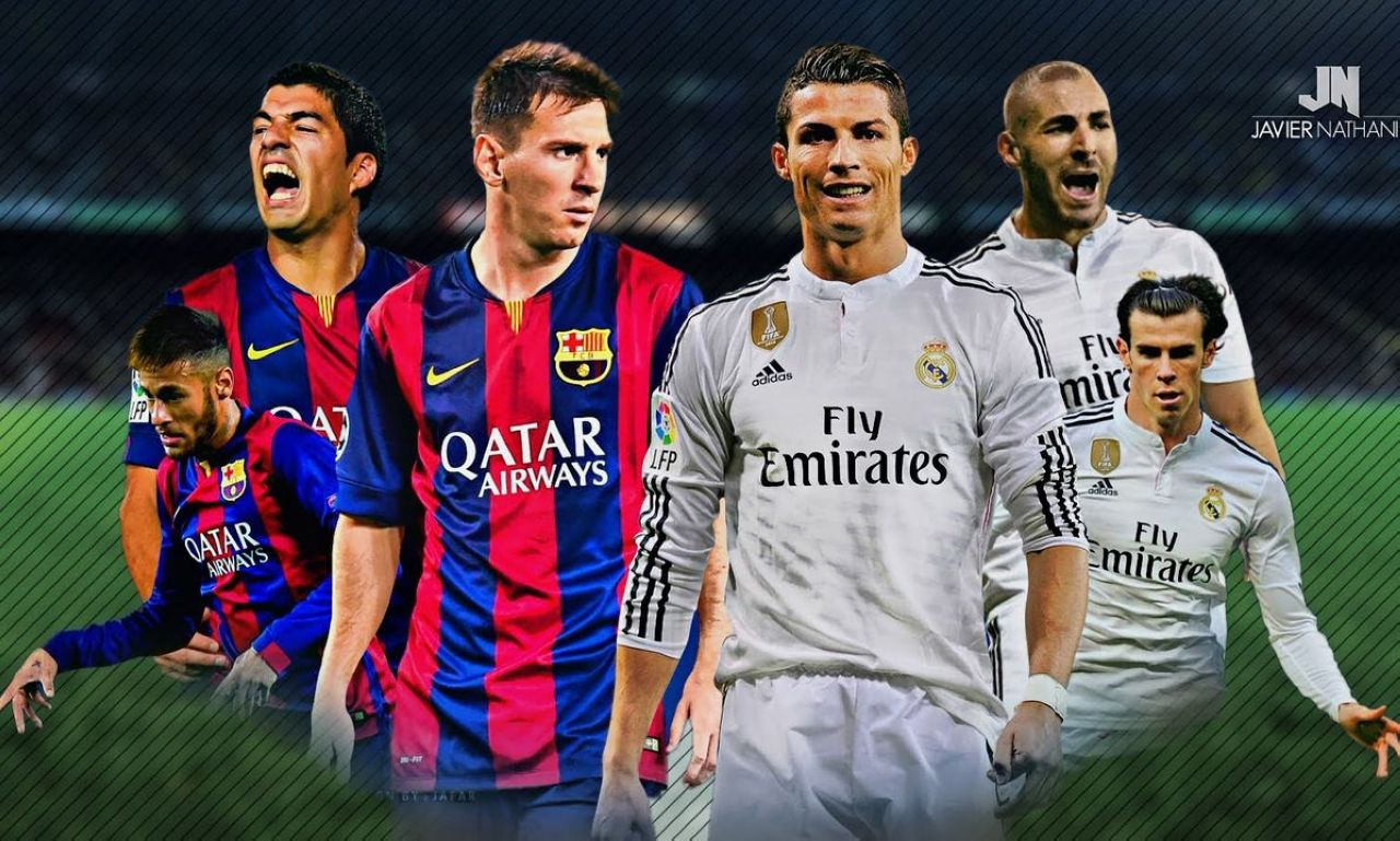 Real Madrid Vs Barcelona Goals 2016