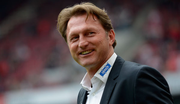 Ralph Hasenhuttl during his time at RB Leipzig. (Getty Images)