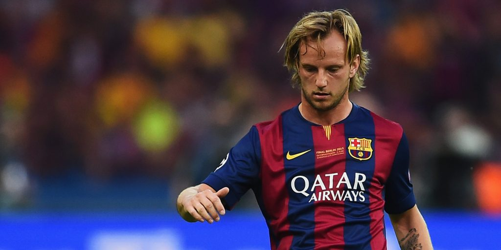 Ivan Rakitic during his initial days with Barcelona.