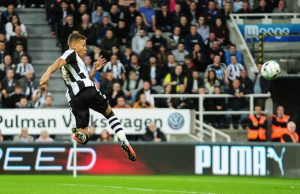 Dwight Gayle of Newcastle United