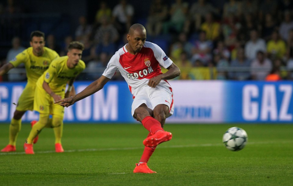Fabinho during his time at AS Monaco.