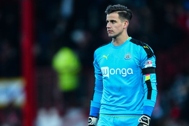 Karl Darlow is Newcastle's second-choice goalkeeper. (Getty Images)