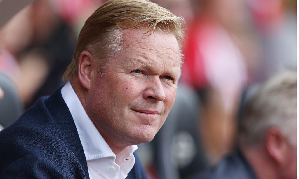 Dutch football team boss Ronald Koeman.
