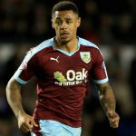 Andre Gray of Burnley.