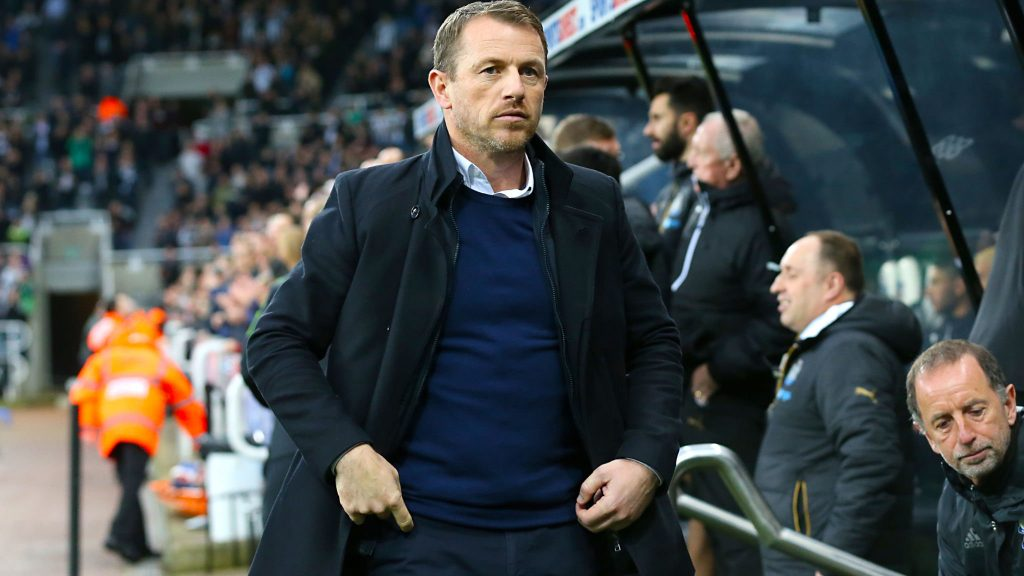 Derby County boss Gary Rowett