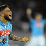 Lorenzo Insigne ecstatic after Napoli's win. (Getty Images)