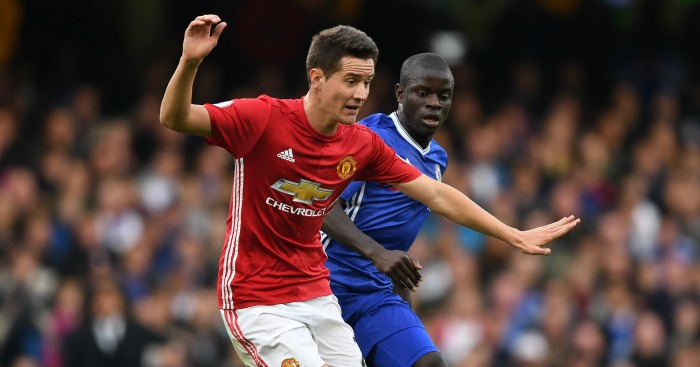 Ander Herrera of Manchester United