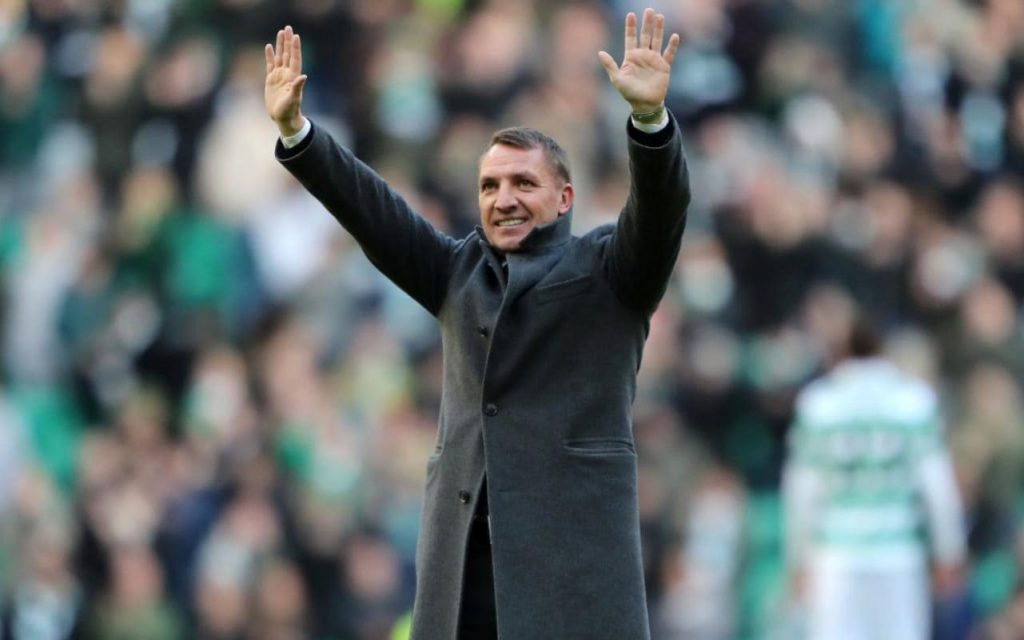 Celtic boss Brendan Rodgers