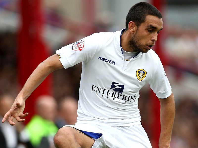 Bellusci of Leeds United