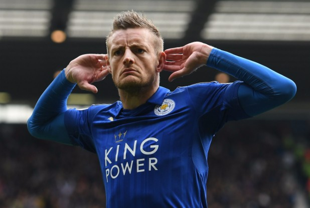 Jamie Vardy of Leicester City.