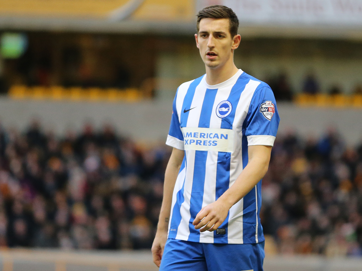 Lewis Dunk is a graduate of the Brighton academy. (Getty Images)