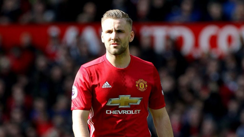 Manchester United left-back Luke Shaw has struggled for form this season.