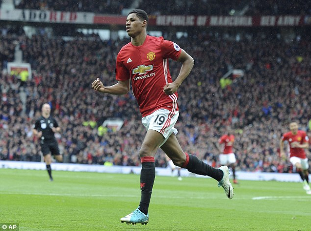 Marcus Rashford has been the only Manchester United attacker, who has impressed so far this season.