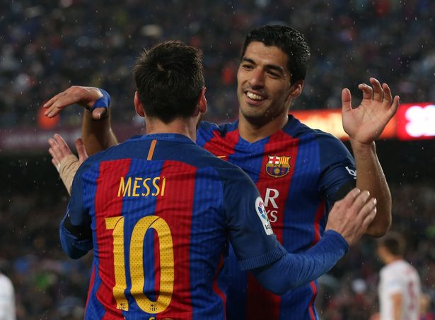 Leo Messi And Luis Suarez Scored For Barcelona