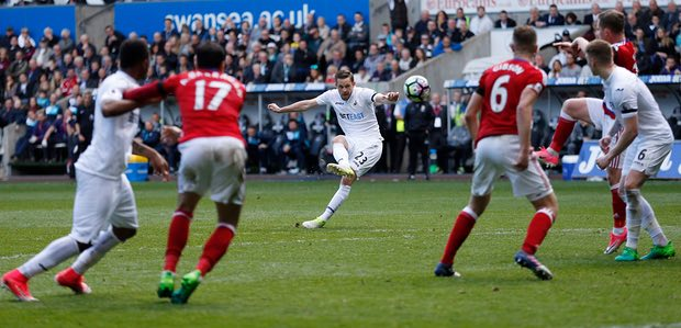 Swansea Were Held To A Goalless Draw By Middlesbrough