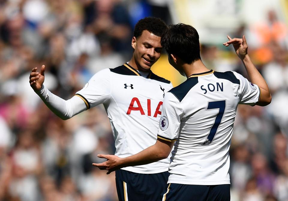 Dele Alli of Tottenham