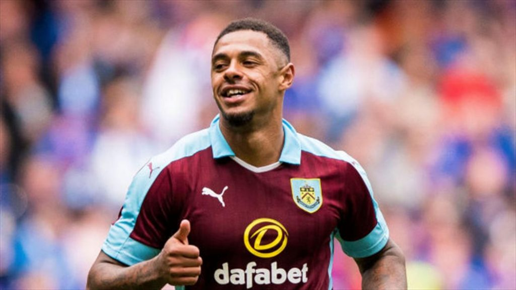 Andre Gray of Burnley
