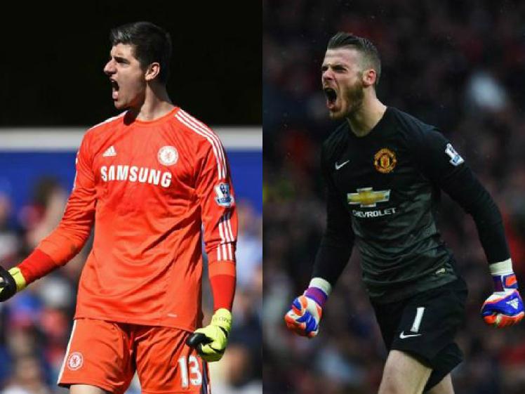 De Gea Manchester United vs Courtois Chelsea