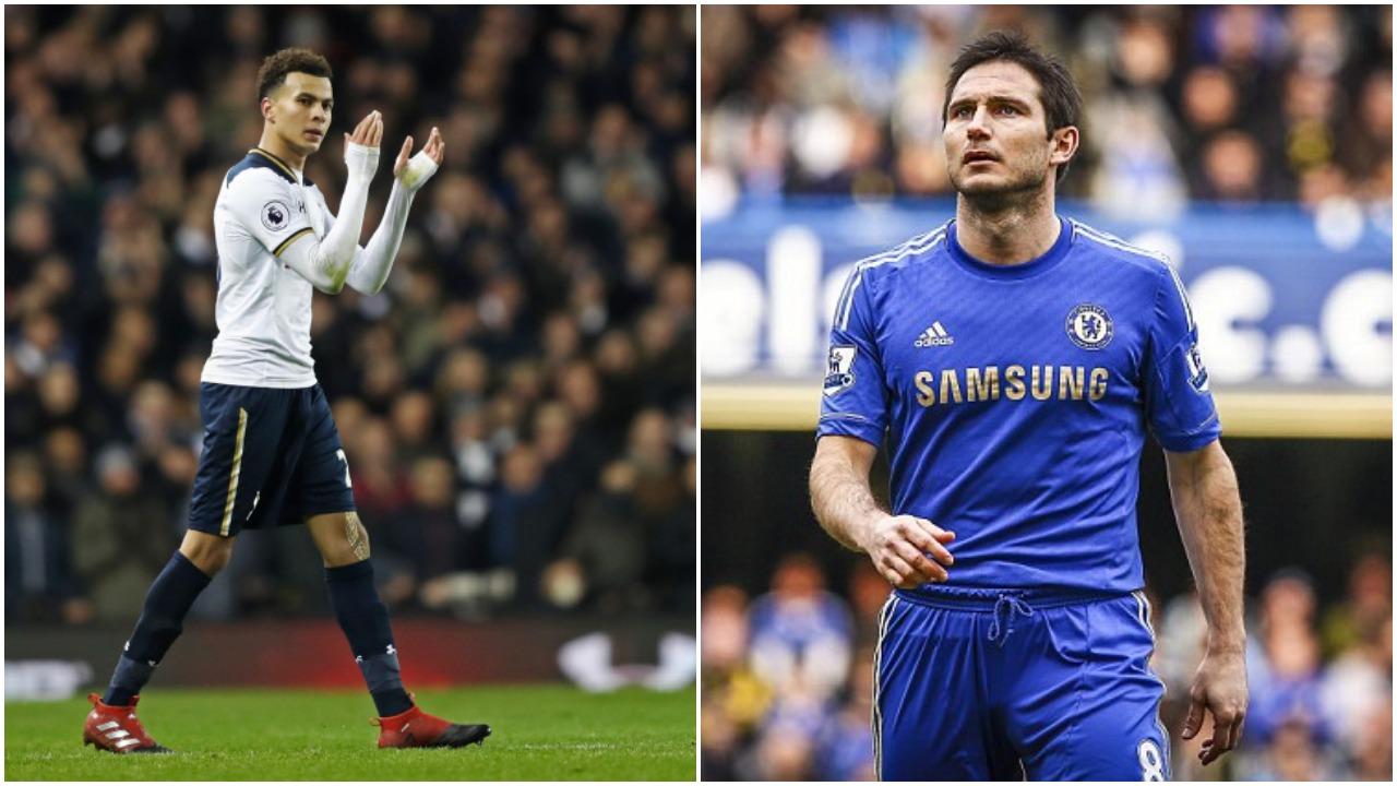 Dele Alli Frank Lampard