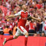 Aaron Ramsey scored the winner for Arsenal