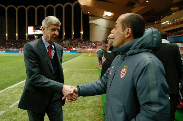 Arsenal manager Arsene Wenger (left) Leonardo Jardim (right)