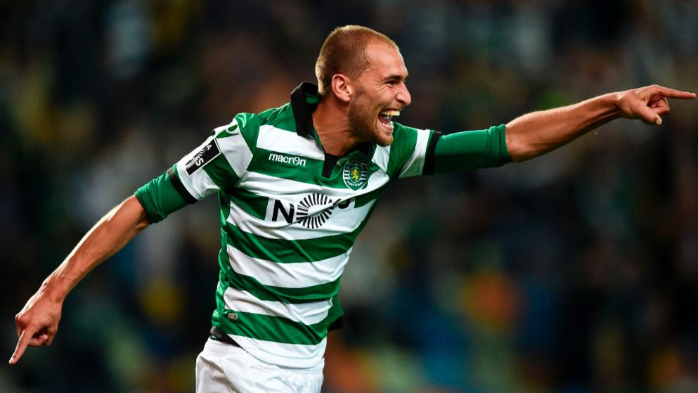 Bas Dost was a prolific goalscorer for Sporting Lisbon. (Getty Images)
