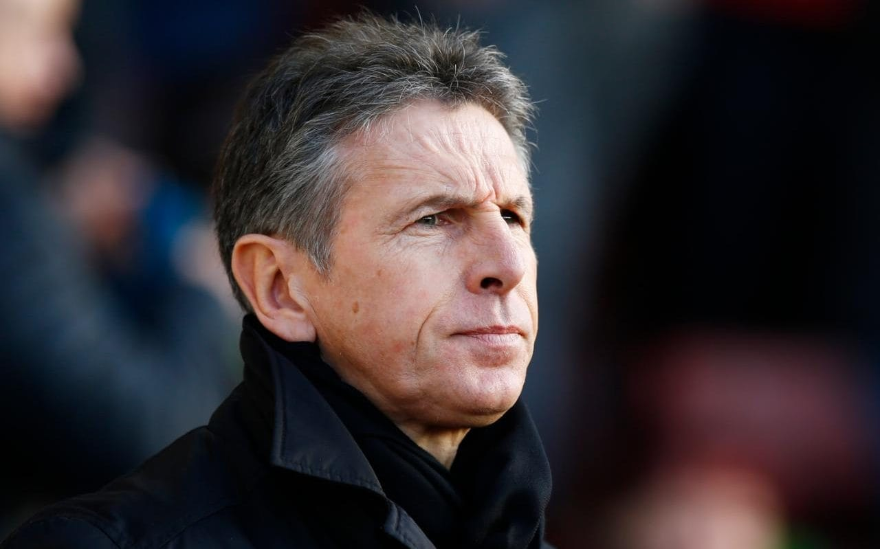 Leicester City boss Claude Puel