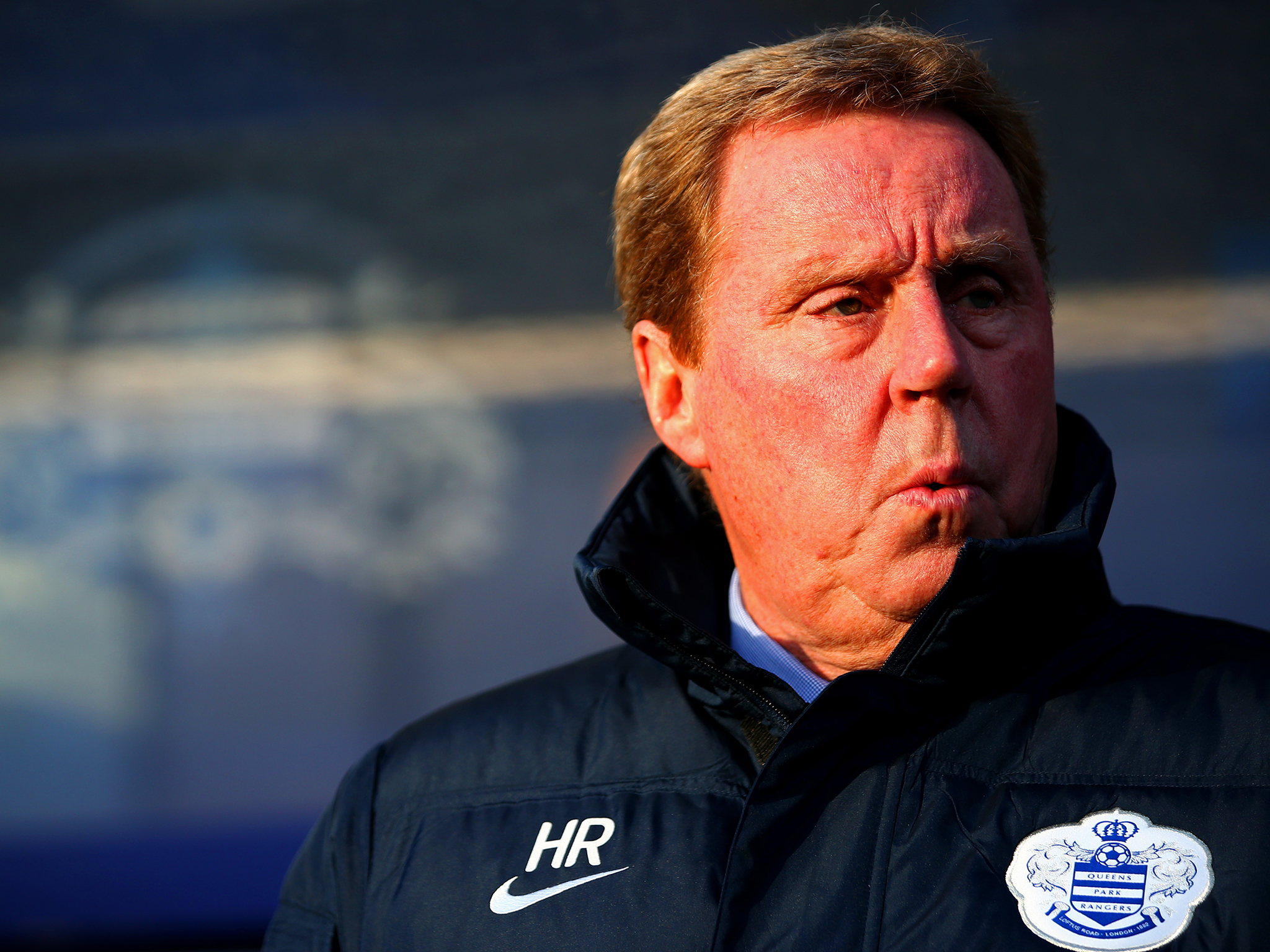 Harry Redknapp is the Birmingham City boss