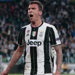 Mario Mandzukic celebrates after scoring for Juventus. (Getty Images)