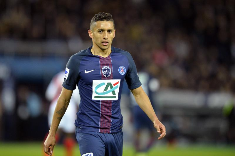 Marquinhos has played a total of 21 games across all competitions this season.