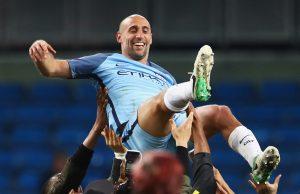 Zabaleta of Manchester City