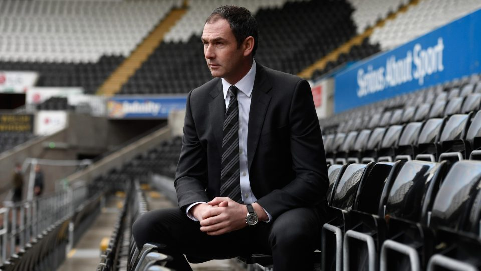 Swansea boss Paul Clement