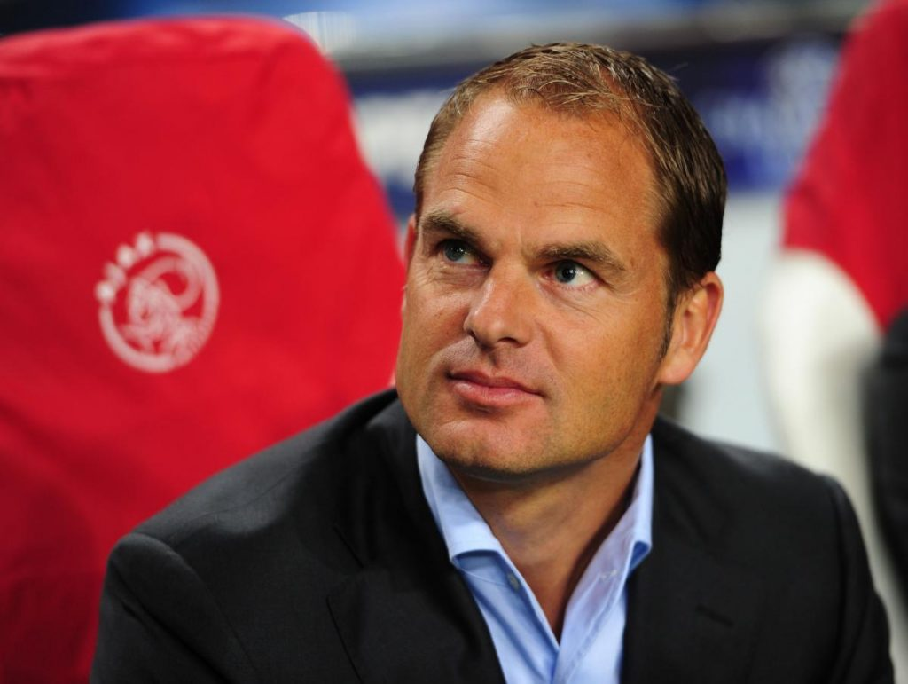 Frank De Boer became hugely unpopular at Palace after a disastrous start to the 2017-18 season.