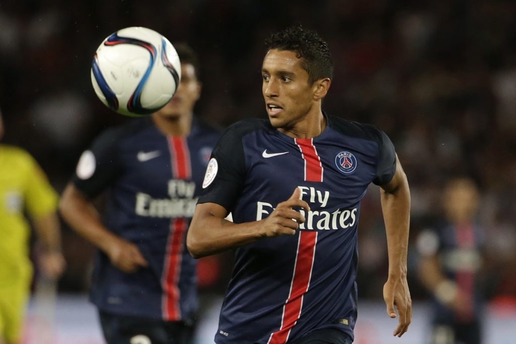 Paris Saint-Germain defender Marquinhos has played over 269 games for the French champions.
