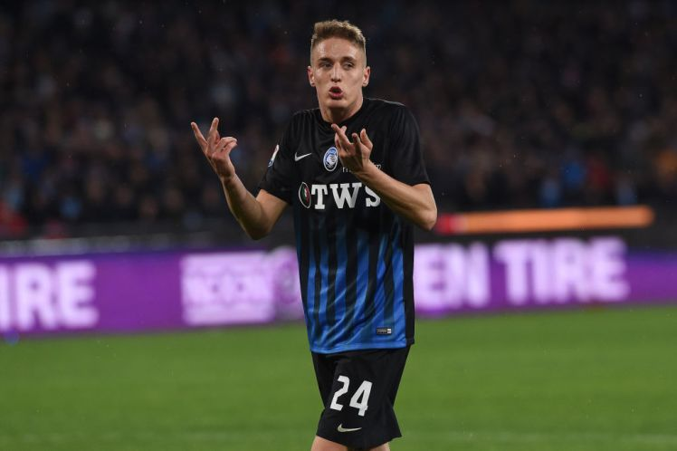 Andrea Conti in action for Atalanta. (Getty Images)