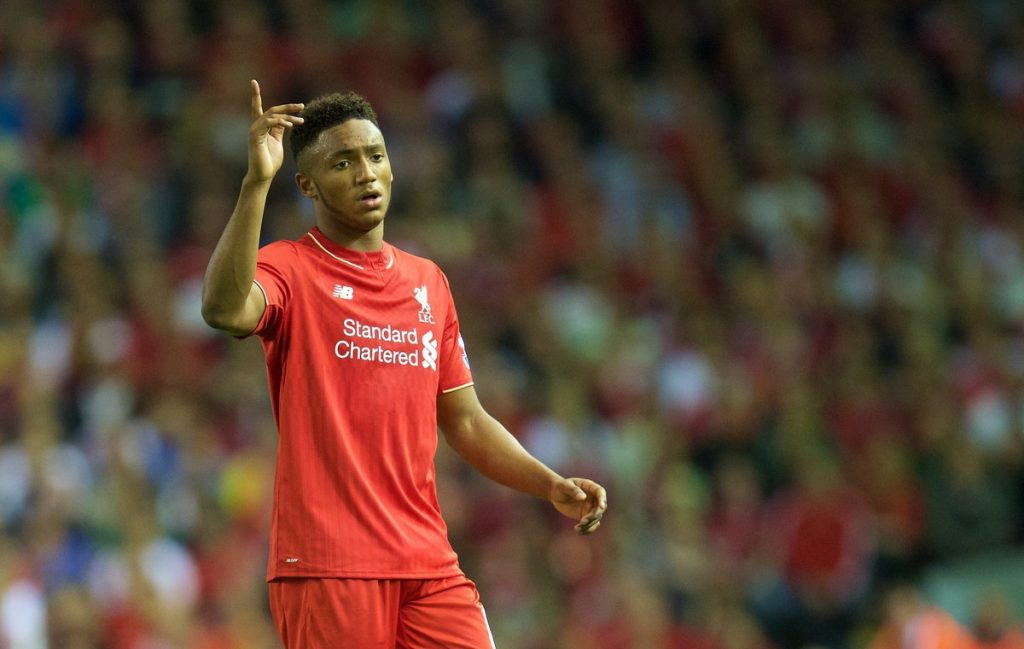 Liverpool's Joe Gomez has struggled for regular game time this season. (Getty Images)