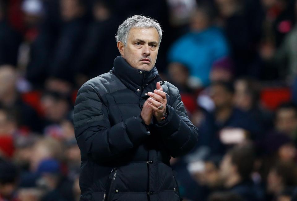 Tottenham's new boss Jose Mourinho.