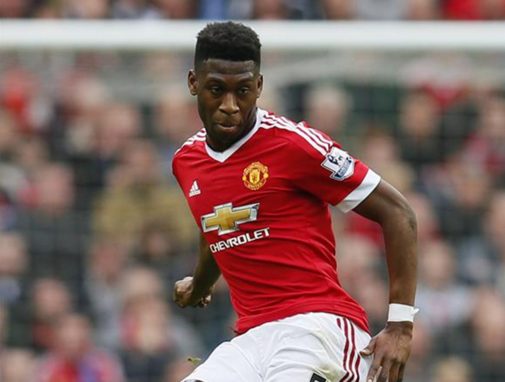 Timothy Fosu Mensah while playing for United.