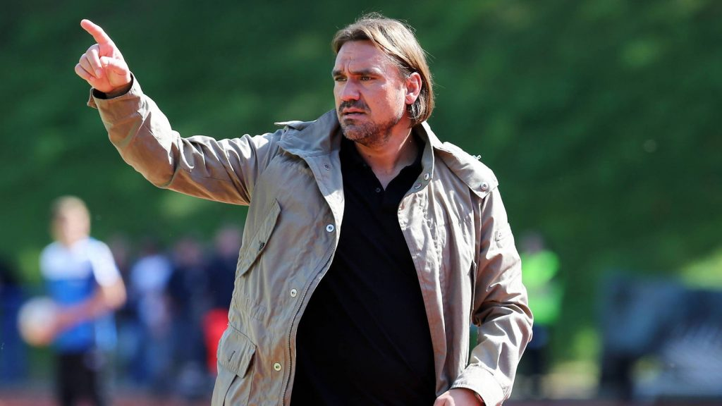 Norwich City manager Daniel Farke. (Getty Images)