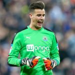 Karl Darlow in action for Newcastle United. (Getty Images)